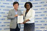 삼성전자-유엔봉사단, 중남미 자원봉사 협력 파트너십 체결